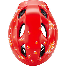 MET Superbuddy Casque Enfant, red animals